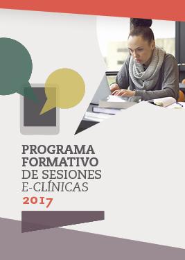 Programa formativo de sesiones e-clínicas 2017