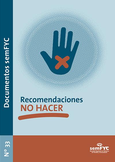 Recomendaciones «NO HACER»